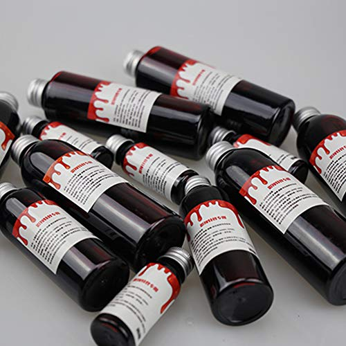 Halloween Fake Blood Ultra-Realistic Simulation Human Vampire Party Make-Up -