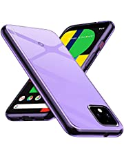 Google Pixel 4 XL Case, CASEVASN [Slim Thin] Anti-Scratches Flexible TPU Gel Rubber Silicone Protective Case Cover for Google Pixel 4 XL