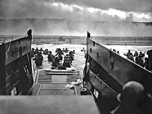 World War 2 Poster DDAY Invasion Military Motivation Poster