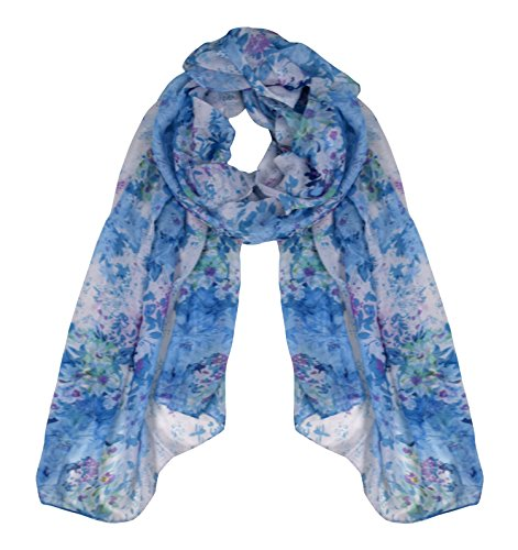 Beautiful Floral Scarf - 1