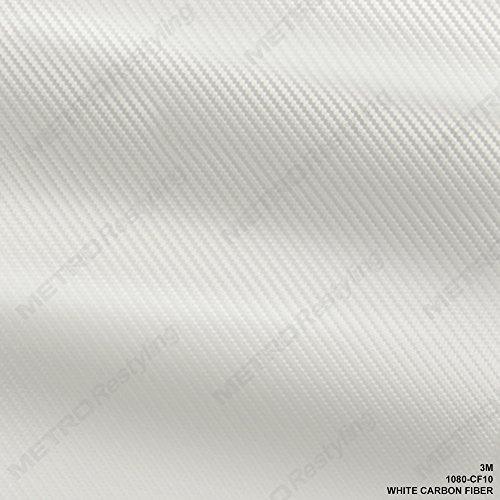 3m carbon fiber vinyl white - 3