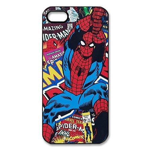 Super Hero Spider Man Movie Brand New Rubber Tpu Silicone Snap On Cover Protector Case For iPhone 5 5S
