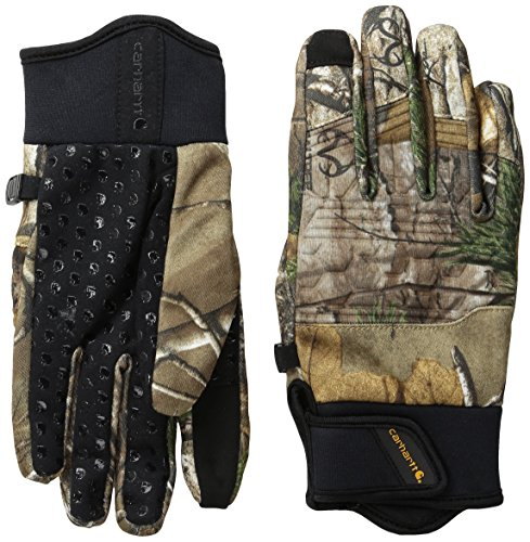 Hatch Cowhide Gloves - Carhartt Men's Midweight Shooting Glove, Extra, Large