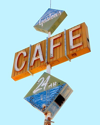 Café Vintage Neon Sign Café Sign Photography Mid Century Modern Décor Retro Kitchen Decor 51mjZUDnwQL