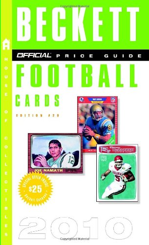 29 Football Card (Beckett Official Price Guide to Football Cards 2010, Edition #29 (Official Price Guide to Football Cards (Beckett)))