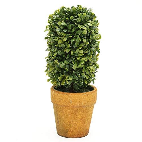(ZHOUMOJH Artificial Garden Grass Wedding Arrangement Buxus Balls Boxwood Topiary Landscape Fake Trees Pots Plants)
