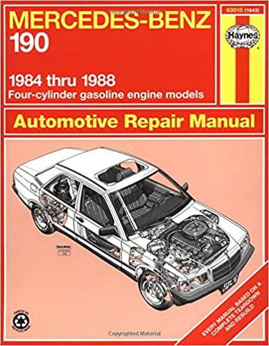 Mercedes benz 190 series 8488 haynes repair manuals haynes mercedes benz 190 series 8488 haynes repair manuals 1st edition fandeluxe
