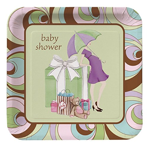 Baby Shower 'Parenthood' Large Paper Plates -
