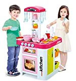 Lenoxx Childrens Toy Electronic kitchen set with working water tap and sink