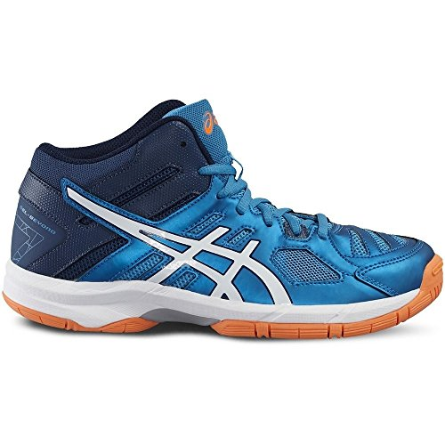 Junior Zapatillass GEL-BEYOND 5 MT GS BLUE JEWEL/WHITE/HOT ORANGE 16/17 Asics turquesa