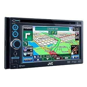 JVC KWNT30HD 6.1-Inch 2-DIN Navigation Touch HD Radio