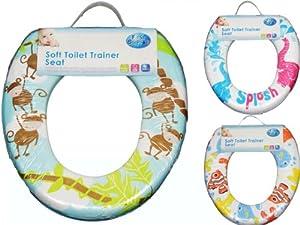 Universal-Toilettenaufsatz für Kinder, gepolstert