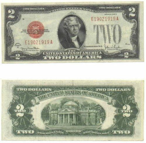 1928-G 2 Dollars U.S. Note