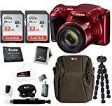 Cheap Canon PowerShot SX420 is Digital Camera w/SanDisk Ultra 32GB SD Card & Advanced Accessory Bundle