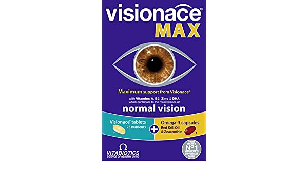 Amazon.com: Visionace Max Tablets/Capsules - Pack of 84 by Visionace: Health & Personal Care