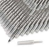 BIC Round Stic Xtra Life Ballpoint Pen, Medium