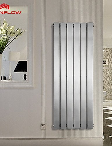 (MEIREN@ 1200x452 Hotel Towel Rack, Vertical Radiator, Column Radiators With Chrome AF-US)