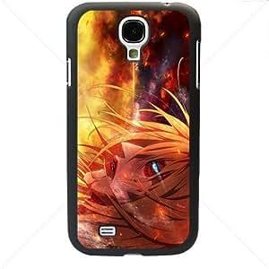 Shingeki no Kyojin Attack on Titan Manga Anime Comic Annie Leonheart Samsung Galaxy S4 SIV I9500 TPU Soft Black or White case (Black)