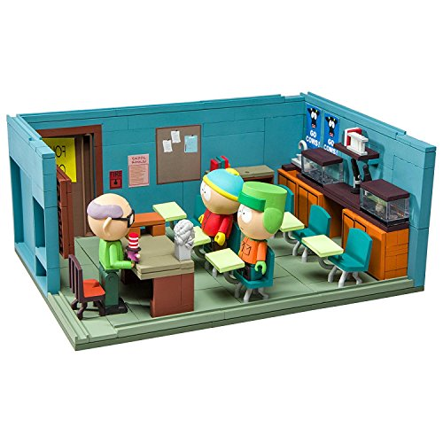 McFarlane Toys South Park The Classroom Large Construction Set from McFarlane Toys