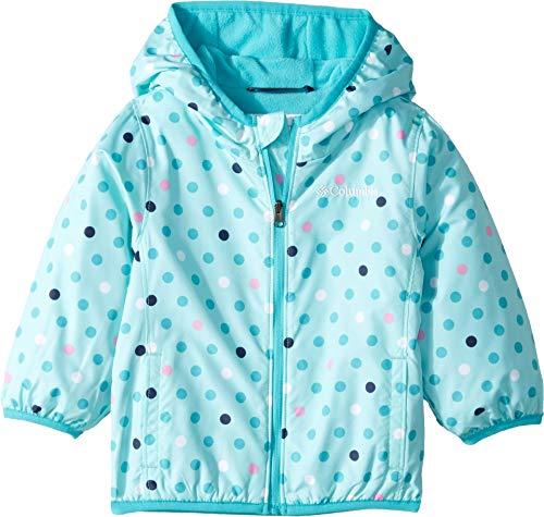 Toddler Mini Columbia - Columbia Kids Baby Girl's Mini Pixel Grabber¿ II Wind Jacket (Infant/Toddler) Gulf Stream Polkadot 4T