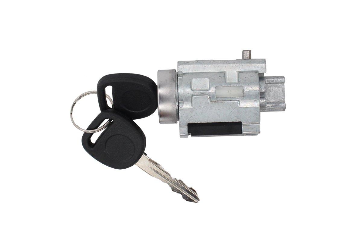 NewYall Ignition Lock Cylinder Tumbler w/Key NO Chip for Chevy Classic Impala Olds Pontiac