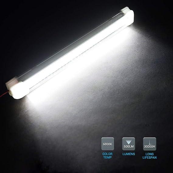 MICTUNING 13.5pulgadas 3.5W 72 LED con interruptor ON y OFF Auto ...
