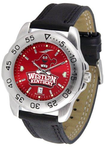 Western Kentucky Hilltoppers Sport AnoChrome Men's Watch by SunTime