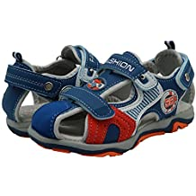 Apakowa Boy's Outdoor Sport Beach Sandal with Arch Support (Toddler/Little Kid)