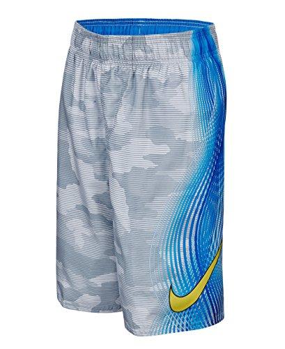 Nike Boy's Camotion Wave Volley Swim Trunks S DoveGrey