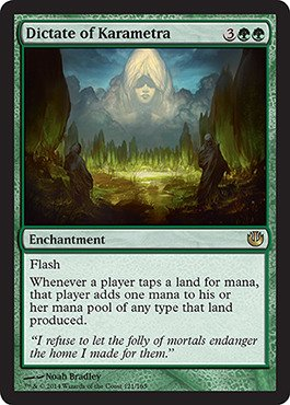 Magic: the Gathering - Dictate of Karametra (121/165) - Journey into Nyx