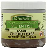 non chicken chicken stock - RC Fine Foods Hearty Foundations Kosher Gluten-Free Chicken Base, 1 Pound
