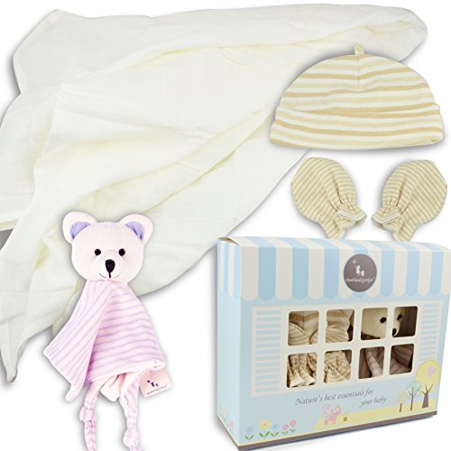 DorDor and GorGor Custom Newborn Baby 3 piece Gift Set (Bear2)