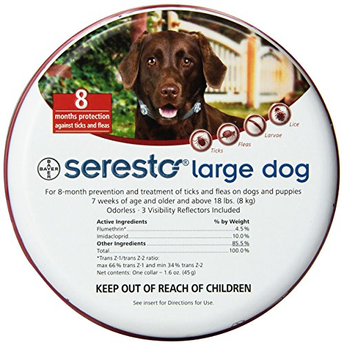 Bayer Seresto Flea and Tick Collar Large Dog