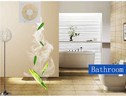 Moolo Ventilation Fan, Square Household Bathroom Kitchen Exhaust Fan by Moolo (Image #2)