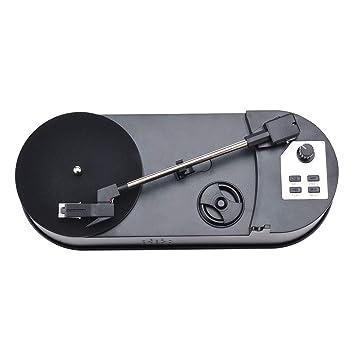 H HILABEE Mini USB de Tocadiscos a MP3 Converter Mini ...