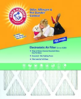 product image for Arm & Hammer Enhanced Air Filter, 12x20x1, 4-Pack