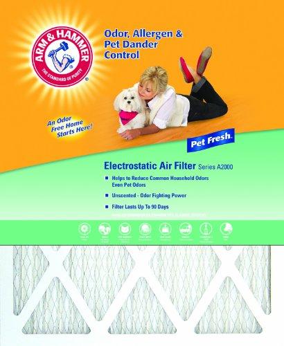 Arm & Hammer Enhanced Air Filter, 12x20x1, 4-Pack