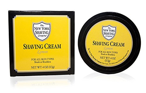 The New York Shaving Company Lemon Shaving Cream 5oz