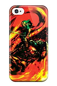 ipod touch 4 Case Cover - Slim Fit Tpu Protector Shock Absorbent Case (the Legend Of Zelda )