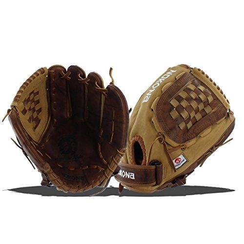 Nokona Buffalo - Nokona Buffalo Combo Fastpitch Softball Glove, Left Hand, 12.5-Inch