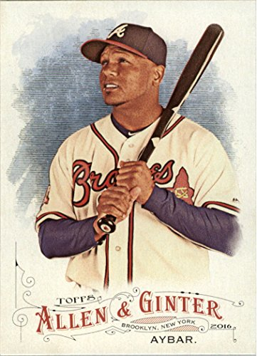 2016 Topps Allen and Ginter Baseball #223 Erick Aybar Atlanta Braves