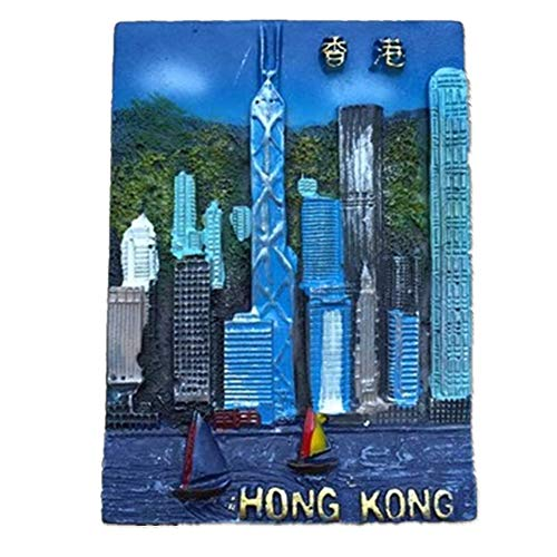 Refrigerator Magnets Resin 3D Funny Bank of China