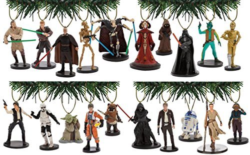 Disney's Star Wars Ultimate Holiday Ornament Set of 20 Episodes (20 Snowman Wreath)