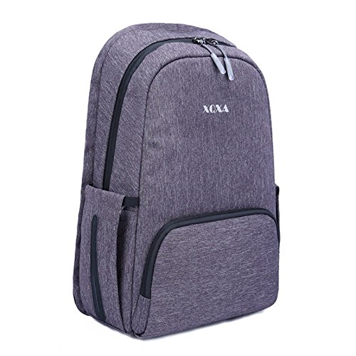 Slim Business Laptop Backpack,Anti Theft Fashion Casual Durable College Computer Bag for Boys, Girls, Men, Women, Teen,Fits 15/15.6'' Laptop/Notebook (A Front) by XQXA