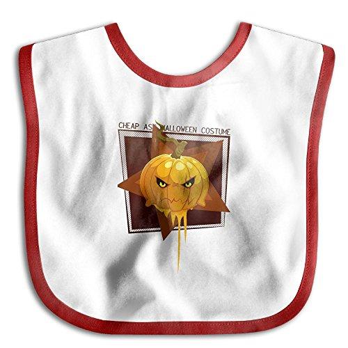 Baby Soft Bib Infant Bibs Cheap Ass Halloween Costume Pumpkin Baby Bibs For Girls Boys Teething Bibs