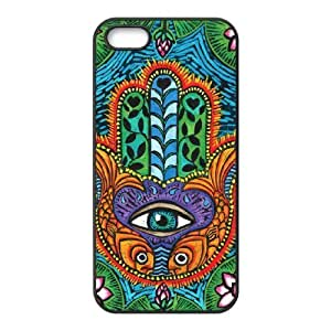 Hamsa Hand Personalized Case for Iphone 5,5S, Customized Hamsa Hand Case