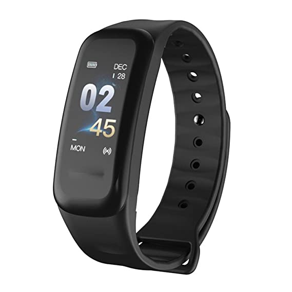 Impermeable Fitness Tracker Actividad Bluetooth con Pulsometros ...