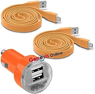 Fonetic Solutions - Adaptador de Cargador para Coche (USB de ...
