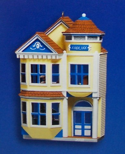 Retired Hallmark Christmas Ornaments (Hallmark 2002 Nostalgic Houses and Shops #19 - Victorian Inn)