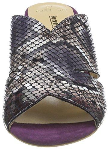Fersengold Sandalias con Punta Abierta para Mujer Multi (Mehrfarbig)